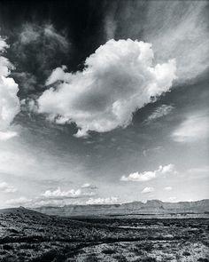 Desert Clouds Giclée-tryk