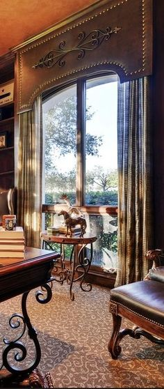 √ 82 Bedroom Window Shades Window Treatment Solutions at Sheffield Furniture & Interiors Window Cornices, Window Coverings, Elegant Home Decor, Elegant Homes, Home Decoracion, H Design, Design Model, Cool Curtains, Gypsy Curtains