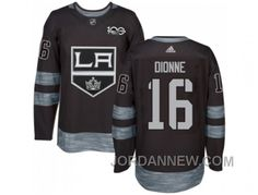 http://www.jordannew.com/los-angeles-kings-16-marcel-dionne-black-19172017-100th-anniversary-stitched-nhl-jersey-for-sale.html LOS ANGELES KINGS #16 MARCEL DIONNE BLACK 1917-2017 100TH ANNIVERSARY STITCHED NHL JERSEY ONLINE Only $35.00 , Free Shipping!