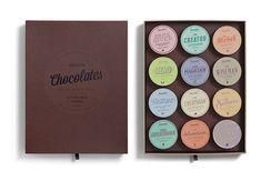 Chocolates With Attitude - open box - Package Design by Bessermachen Design Studio #package  #design
