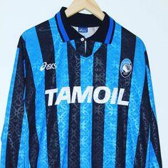 1994-1995 Atalanta B.C Shirt L/S L - from @timelessfootball Link in bio #atalanta #seriea #footballshirtcollective