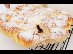 Fluffy Zupfkipferl / filled and super delicious / fluffy Rolls / ENG SUB – Famous Last Words How To Make Pudding, How To Make Bread, No Cook Desserts, Dessert Recipes, Food Tags, Biscotti, Buffet, Deserts, Sweets