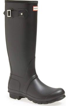 dd30a112f309cb Original tall matte black size 8 Hunter Shoes
