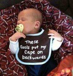 Love this bib...