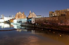 Brooklyn: gowanus night reflections by krugerlive, via Flickr