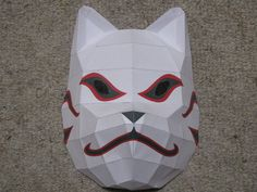Anbu Mask Paper Craft.  bad asssss!
