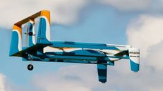 Well, this is interesting... Amazon files patent for flying warehouse http://www.bbc.co.uk/news/technology-38458867