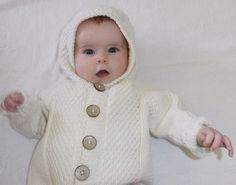 Ravelry: Baby Cardigan and Hooded Jacket by OGE Knitwear Designs