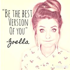 My friend would like this. She's a fan of Zoella and loves quotes (Not as much as i love quotes though!)