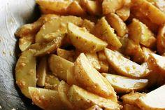 Batatas Assadas com Alho e Azeite