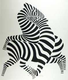 View Zebras sw by Victor Vasarely on artnet. Browse more artworks Victor Vasarely from Conzen. Victor Vasarely, Op Art, Grafik Art, Illustration Art, Illustrations, Grafik Design, Art Plastique, Optical Illusions, Oeuvre D'art