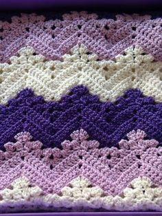 35 Besten Wellen Häkeln Bilder Auf Pinterest Blankets Crochet