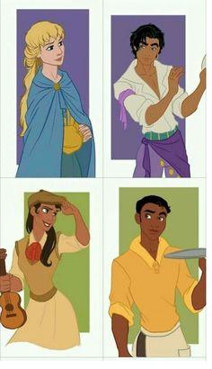 Gender bending Disney