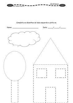 Tracing Worksheets, Preschool Worksheets, Planet Crafts, Preschool Writing, All Schools, Kindergarten, Crafts For Kids, Work Sheet, Kindergartens