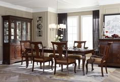 Legacy Irving Park Bedroom and Dining Collection
