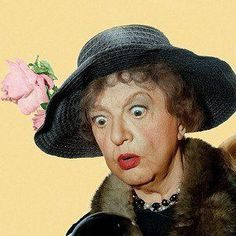 Beloved Aunt Clara (Marion Lorne) from TV's Bewitched
