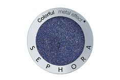 Sephora Collection eyeshadow in #254 Diving In, $11, sephora.com Blue Face Paint, Smudge Proof Mascara, Sephora Brands, Brow Serum, High Cheekbones, Big Blue Eyes, Full Brows, Over 40, Sensitive Eyes