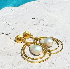 2ba15c9ff1b94 These Christina Greene Teardrop Earrings are a beautiful addition to any  summer wardrobe. Follow us on instagram   christinagreenejewelry