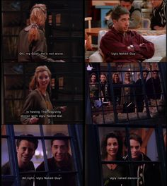 Pheobe, Ross, Monica, Rachel, Chandler, Joey