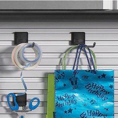 Garage Organization - Single Hook by Hafele | KitchenSource.com  #kitchensource #pinterest #followerfind