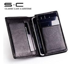 2013 best quality Protective Iphone 4s 5 case wallet  in sheep leather mobile case wallet with card slot money pocket wallet  holder gift op Etsy, 25,22 €