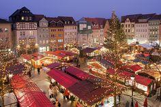 Weihnachtsmarkt de Jena, Alemanha ♥