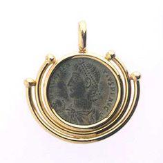 Bronze Coin of Roman Emperor Constantius II - FJ.3342 Origin: Jerusalem Circa: 337 AD to 361 AD