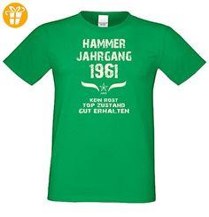 Geschenk zum 56. Geburtstag :-: Herren Geburtstags-Sprüche-T-Shirt