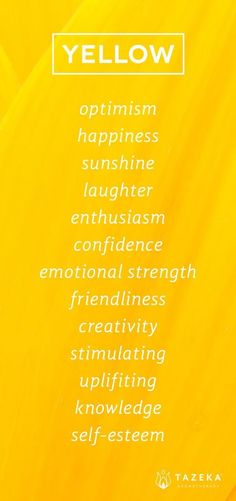 aesthetic Yellow Color Psychology www. Yellow Color Psychology www. Color Meanings, Color Psychology, Psychology Facts, Mellow Yellow, Color Yellow, Shades Of Yellow, Yellow Black, You Are My Sunshine, Happy Sunshine