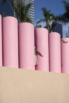 JUNE KIM & MICHELLE CHO, architecture, form, pink