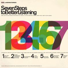 Seven Steps To Better Listening