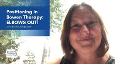 Manon Bolliger, ND talks about the notion of elbows out, an optimal elbow positioning while performing Bowen Therapy on clients. College Website, Therapy, Healing, Positivity, Social Media, Videos, Social Networks, Counseling, Recovery
