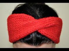 Örgüden Saç Bandı (Bandanası) Nasıl Yapılır? (Baştan Sona Anlatımlı) - örgü modelleri - knitting - YouTube