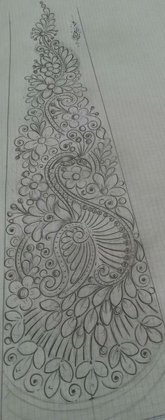Art Mexicano Dibujo 23 Ideas For 2019 Hand Embroidery Design Patterns, Hand Work Embroidery, Embroidery Motifs, Beaded Embroidery, Fashion Design Drawings, Art Drawings Sketches, Fabric Painting, Quilting Designs, Mehndi