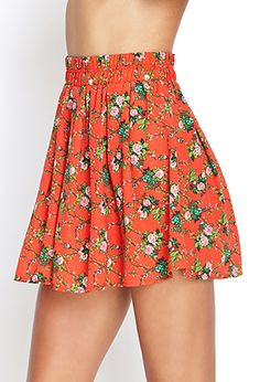 Forever 21 is the authority on fashion & the go-to retailer for the latest trends, styles & the hottest deals. Shop dresses, tops, tees, leggings & more! Colourful Outfits, Cute Dresses, Skater Skirt, Latest Trends, Summer Outfits, Forever 21, Floral Prints, Tees, Hot