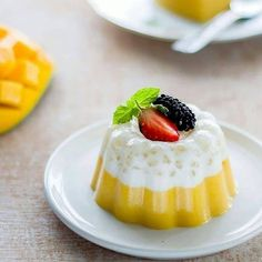 Agar, Pudding Recipes, Jelly, Panna Cotta, Cheesecake, Food And Drink, Ethnic Recipes, Desserts, Projects