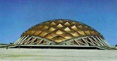 Félix Candela: palacio de los deportes (1966) Architecture 101, Contemporary Architecture, Felix Candela, México City, Facade, Mid Century, Modernism, Inspiration, Ark
