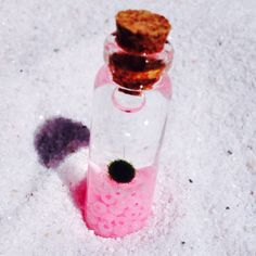 A personal favorite from my Etsy shop https://www.etsy.com/listing/236507417/pink-serenity-marimo-moss-ball-vial-of