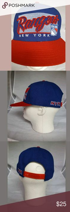 New York Rangers Men's Hat Snapback Cap NHL *L New York Rangers Men's Hat Snapback Cap NHL *L Accessories Hats