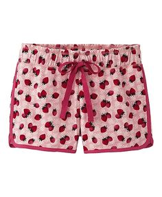 uniqlo has the cutest clothes... I love these strawberry print shorts.  They are probably meant for use at any old time... for me it would be strictly pjs.