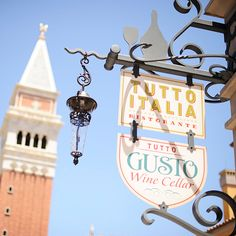 Tutto Italia and Tutto Gusto - Disney Honeymoon Ideas