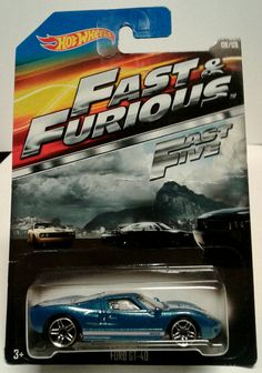 Hot Wheels FAST & FURIOUS Ford GT-40   PRICE: $5.50