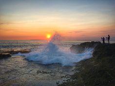 Sunset ceningan island Bali