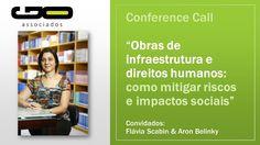 [Áudio] Conference Call - Obras de infraestrutura e direitos humanos - Á...