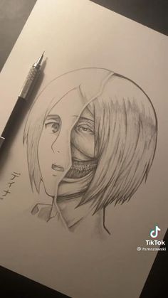 Anime Drawings Sketches, Anime Sketch, Easy Drawings, Anime Lineart, Best Anime Shows, Oil Pastel Drawings, Anime Crafts, Anime Character Drawing, Attack On Titan Art