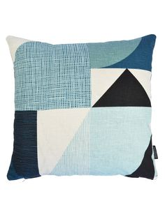 Spira Nemo cushion cover - Blue Living > Cushion covers