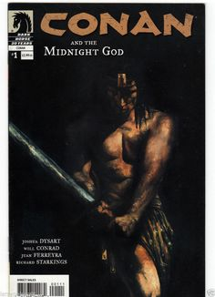 CONAN MIDNIGHT GOD #1-5 1 2 3 4 5 DARK HORSE DYSART CONRAD FERREYRA STARKINGS DH