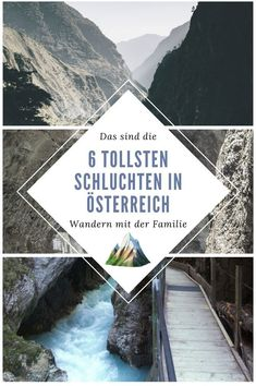 These are the 7 most spectacular gorges in Austria, Travel Through Europe, Reisen In Europa, Royal Caribbean Cruise, London Pubs, Go Hiking, Romantic Travel, Beach Trip, Van Life, Outdoor Travel