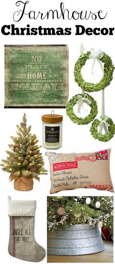 Happpppy November my friends! Today I am sooooo excited to share with you my farmhouse style Christmas decor guide. Farmhouse Christmas Decor, Country Christmas, Winter Christmas, All Things Christmas, Christmas Home, Christmas Crafts, Christmas Ideas, Christmas Tree Basket, Christmas Tree Stand Cover