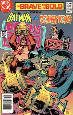 Donkey Kong vs. BATMAN! http://www.arcade-games-web.com/galleries/donkey_kong/